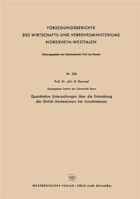 Quantitative Untersuchungen Über Die Entwicklung Des Ehrlich-ascitestumors Bei Inzuchtmäusen