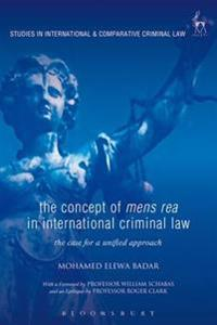 Concept of Mens Rea in International Criminal Law