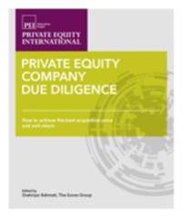 Private Equity Company Due Diligence