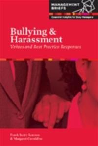 Bullying & Harassment - Values and Best Practice Responses