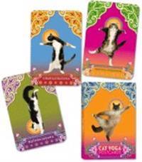 Cat Yoga Postcards