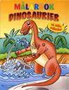 Målarbok Dinosaurier