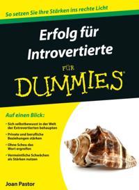 Erfolg f r Introvertierte f r Dummies