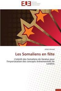 Les Somaliens En Faate