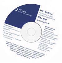 Text Audio CD-ROM (Stand Alone) for Moneti/Lazzarino's Da capo