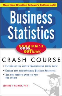 Schaum's Easy Outline of Busines Statistics