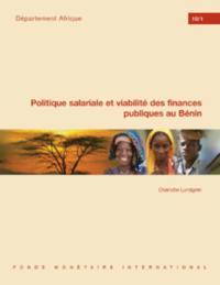 Politique salariale et viabilite des finances publiques au Benin: