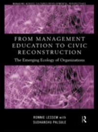 From Management Education to Civic Reconstruction