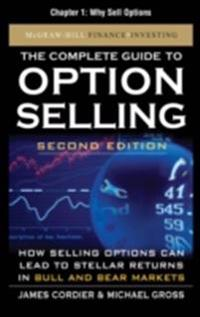 Complete Guide to Option Selling, Second Edition, Chapter 1