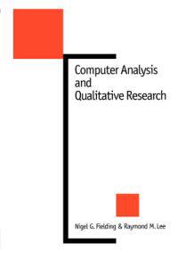 Computer Analysis and Qualitative Research
