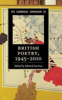 The Cambridge Companion to British Poetry 1945-2010