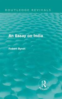 Essay on India (Routledge Revivals)