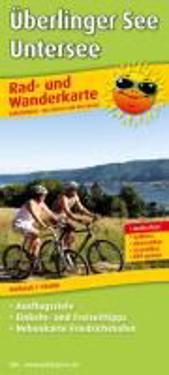 Rad- und Wanderkarte Überlinger See - Untersee 1 : 50 000