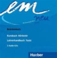 em neu 2008 Brückenkurs 2 Audio-CDs