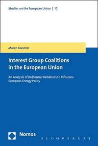 The Formation of Coalitions in the European Union
