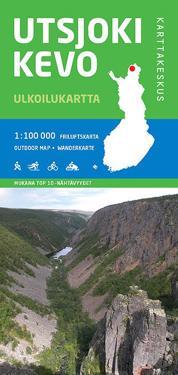 Utsjoki-Kevo ulkoilukartta 1:100 000