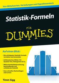 Statistik-Formeln f r Dummies