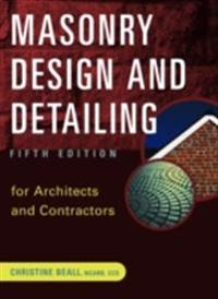 Masonry Design and Detailing