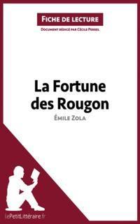 La Fortune des Rougon de Emile Zola (Fiche de lecture)