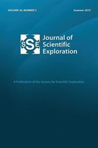Jse 29: 2 Journal of Scientific Exploration