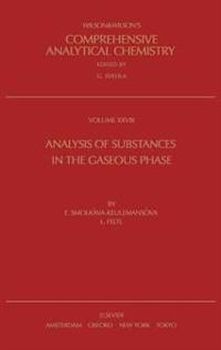 Analysis of Substances in the Gaseous Phase