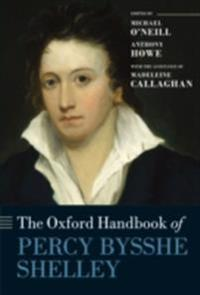 Oxford Handbook of Percy Bysshe Shelley