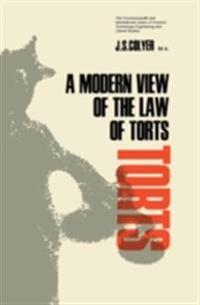 Modern View of the Law of Torts