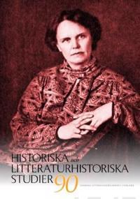 Historiska och litteraturhistoriska studier 90 -  pdf epub