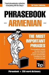 English-Armenian Phrasebook and 250-Word Mini Dictionary