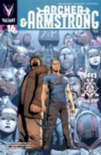 Archer & Armstrong (2012) Issue 16
