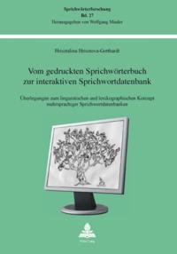 Vom gedruckten Sprichwoerterbuch zur interaktiven Sprichwortdatenbank