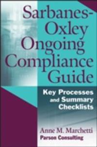 Sarbanes-Oxley Ongoing Compliance Guide