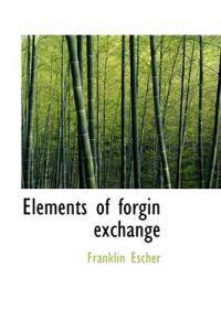 Elements of Forgin Exchange