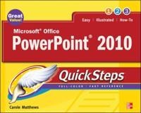 Microsoft Office PowerPoint 2010 QuickSteps