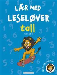 Tall. Lær med leseløver. Med klistremerker!