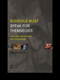 Schools Must Speak for Themselves