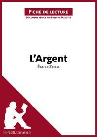 L'Argent d'Emile Zola (Fiche de lecture)