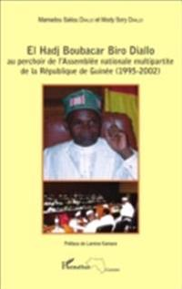 El Hadj Boubacar Biro Diallo au perchoir de l'Assemblee nati