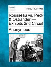 Rousseau vs. Peck & Ostrander - Exhibits 2nd Circuit