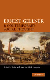 Ernest Gellner and Contemporary Social Thought