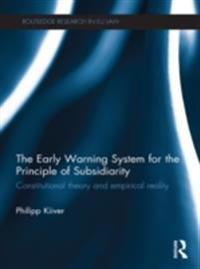 Early Warning System for the Principle of Subsidiarity