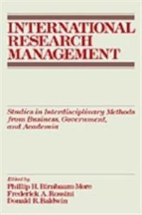 International Research Management