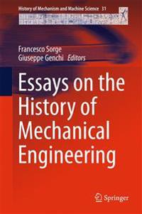 Essays on the History of Mechanical Engineering