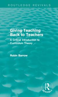 Giving Teaching Back to Teachers