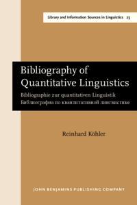 Bibliography of Quantitative Linguistics