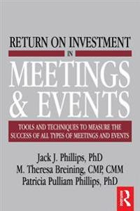 Return on Investment in Meetings and Events