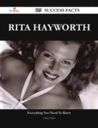 Rita Hayworth 129 Success Facts - Everything you need to know about Rita Hayworth