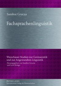 Fachsprachenlinguistik