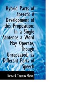 Hybrid Parts of Speech