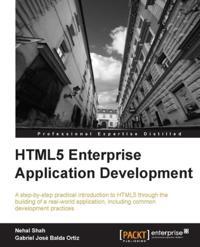 HTML5 Enterprise Application Development